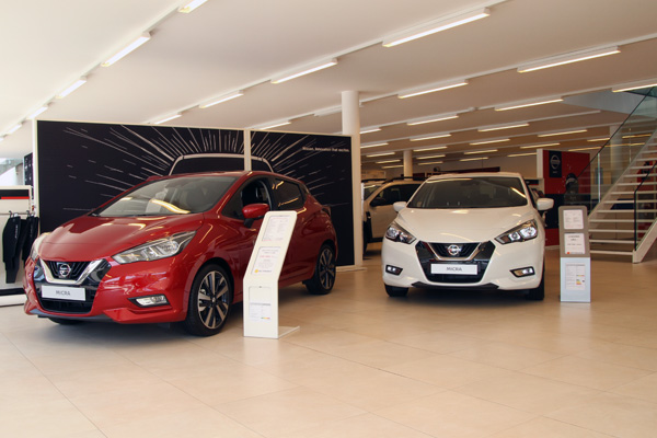 Showroom Nissan
