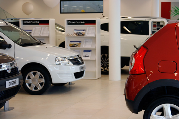 Showroom Dacia